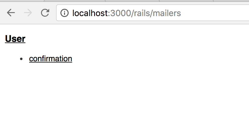 Mailer preview index listing