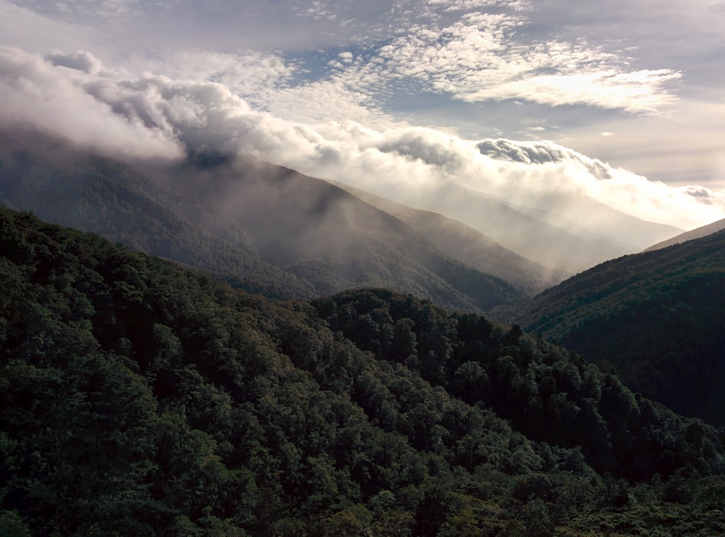 View from Rocky Lookout, Tararua Forest Parkr