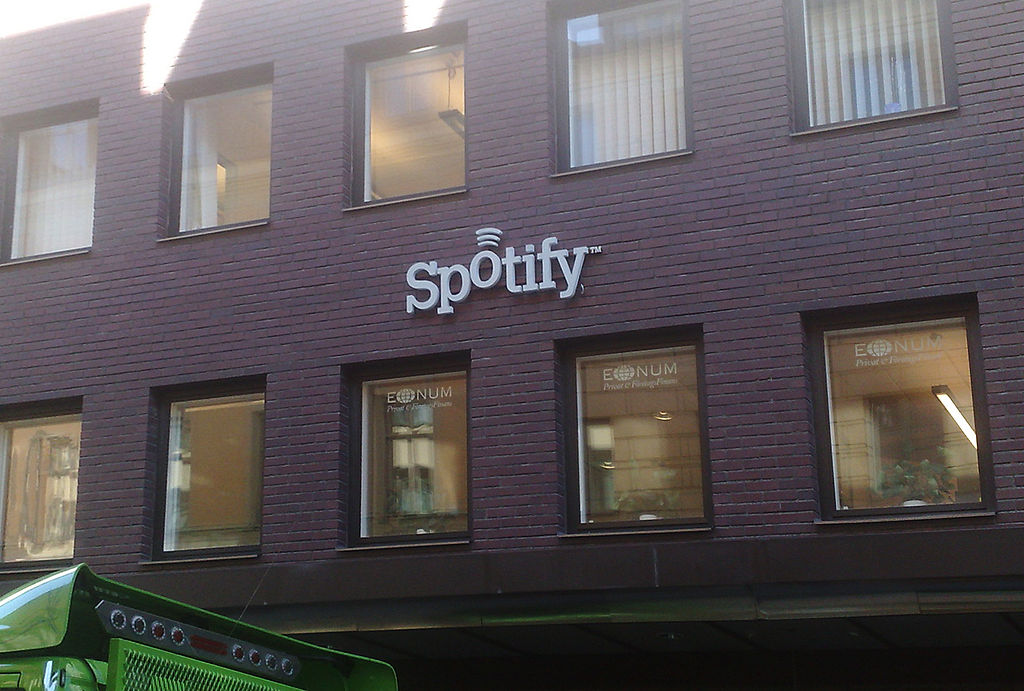 Spotify's headquarters at Humlegårdsgatan
