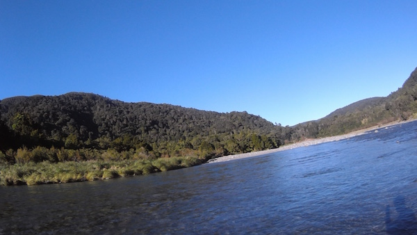 Waiohine River Crossing Point